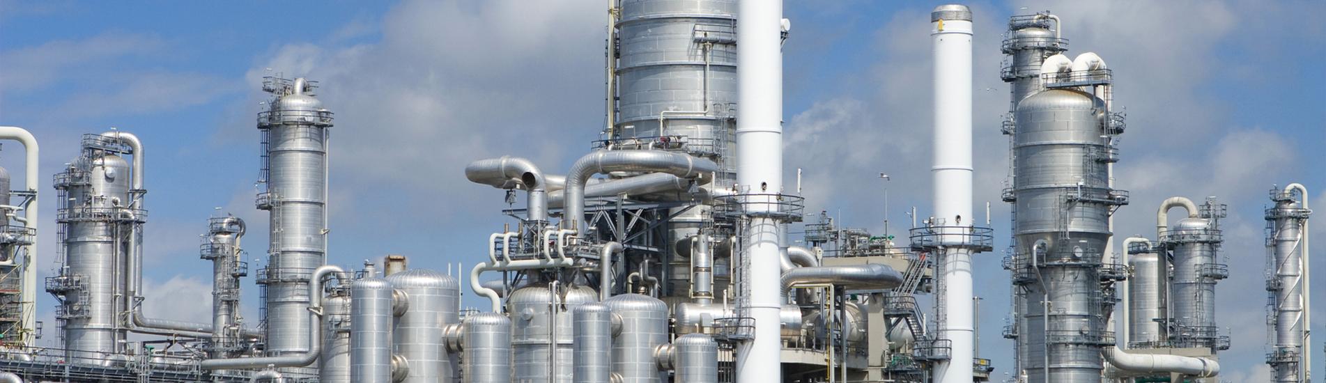 A Big Oil Refinery